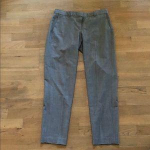 Theory Testra 2B Grey Pants, Size 4